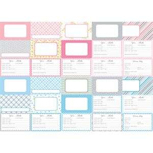 Picture of Pocket Baby Bundle Journal Cards by Katie Pertiet- Set 30